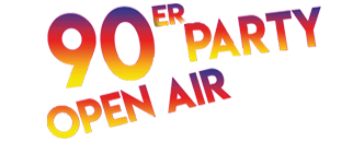 90er Open Air Party Logo